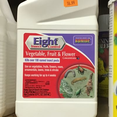 Eight Flower & Vegetable Insect Contorl